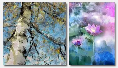 Tablouri cu Peisaje si Flori